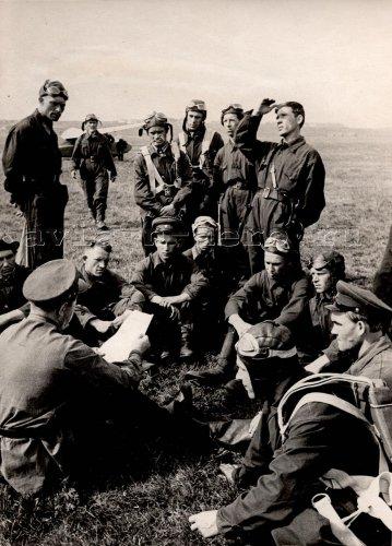 На Всесоюзном слёте планеристов, Тула, июль 1938