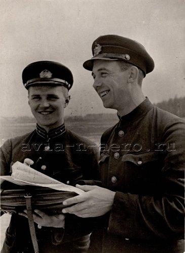 Б.А. Невернов и Г.И. Голышев, 25 августа 1939