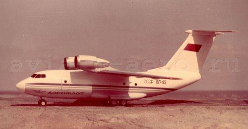 Макет второго экземпляра Ан-72 СССР-19773