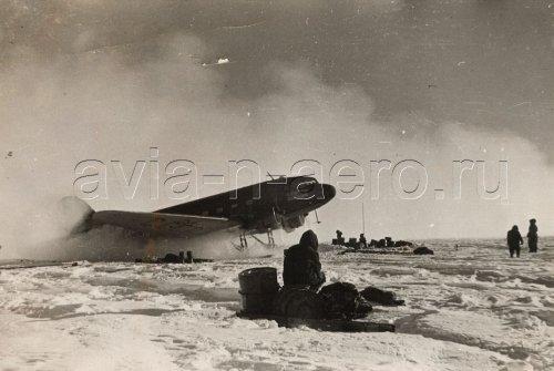Антарктида ст. Комсомольская, 1957